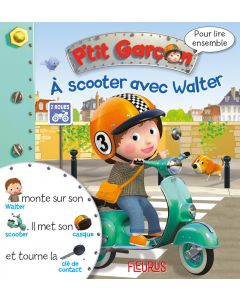 A scooter avec Walter