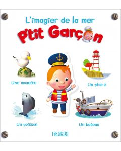 L'imagier de la mer - P'tit Garçon