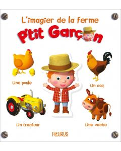 L'imagier de la ferme- P'tit Garçon