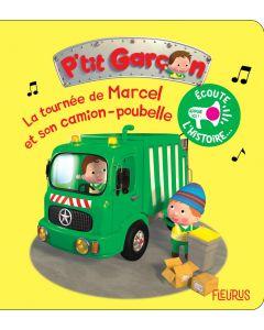 La tournée de Marcel et son camion poubelle
