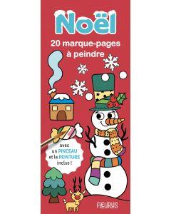 Marque-pages à peindre - Noël
