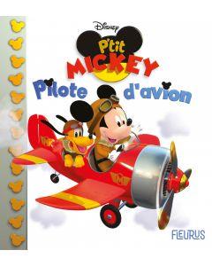 Mickey pilote d'avion