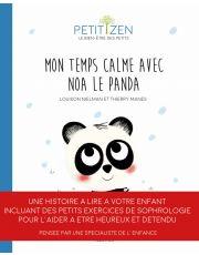 Le temps calme de Noah le panda