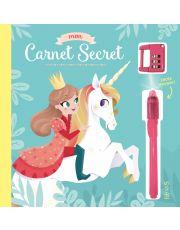 Mon carnet secret (licorne et princesse)