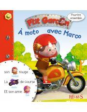 À moto avec Marco