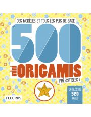 500 mini origamis irrésistibles !