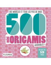 500 mini origamis adorables !