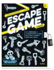 Escape Game Junior. 3 aventures (La malédiction de la momie / Qui a volé la Joconde ? / Piégés dans l'espace)