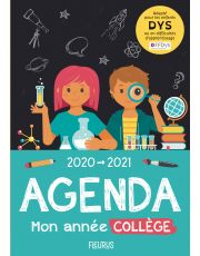 Agenda 2020-2021. Mon année collège