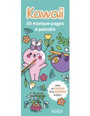 Marque-pages à peindre - kawaii