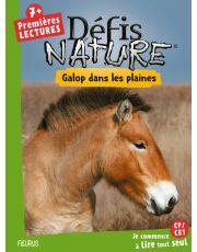 Défis nature - Premières lectures - Galop dans les plaines