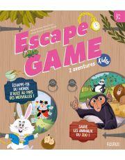 Escape Game Kids  - 2 aventures (Sauve les animaux du zoo !, Échappe-toi du monde d'Alice au pays des merveilles !)