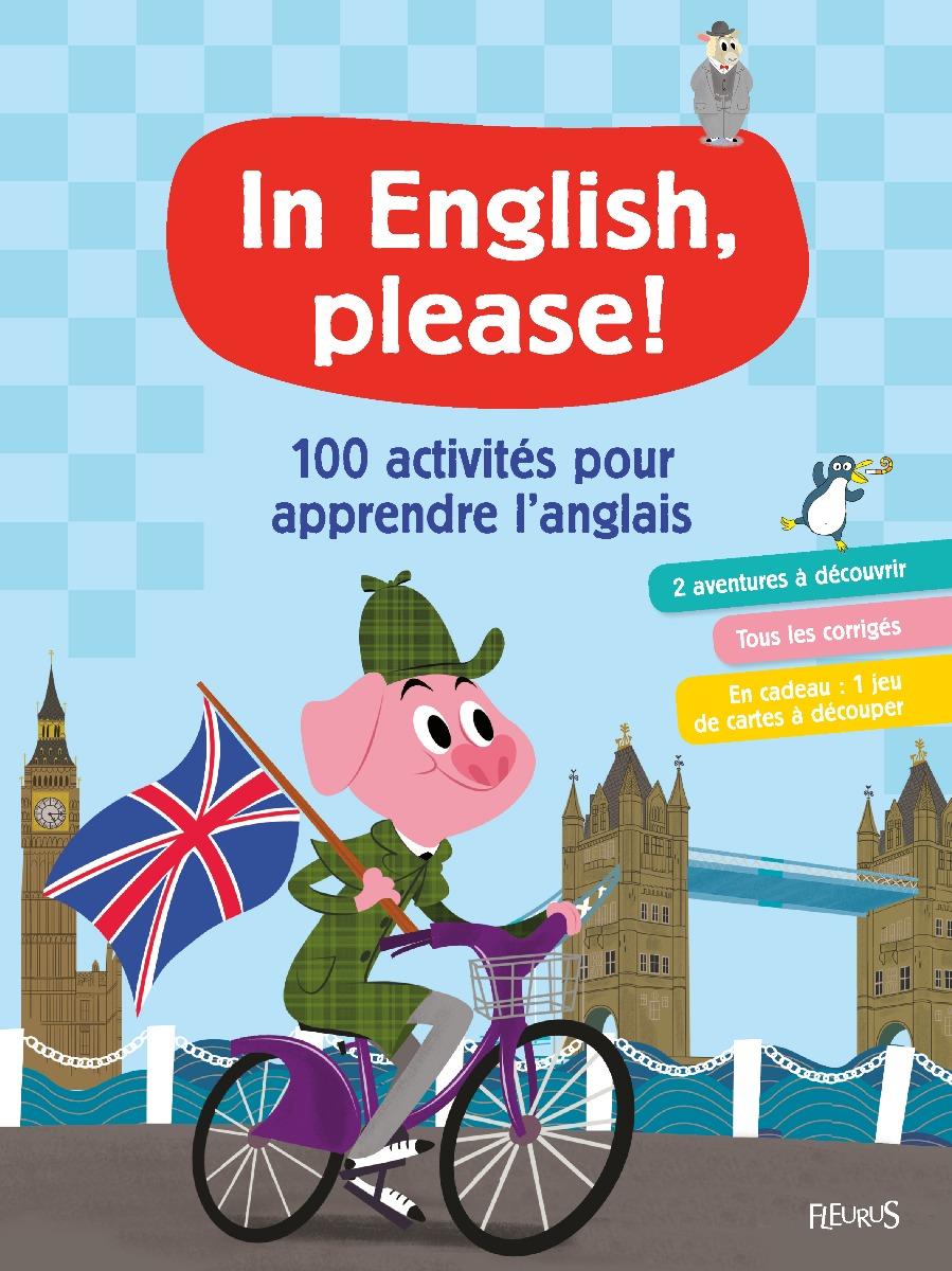 Couverture apprendre l'anglais