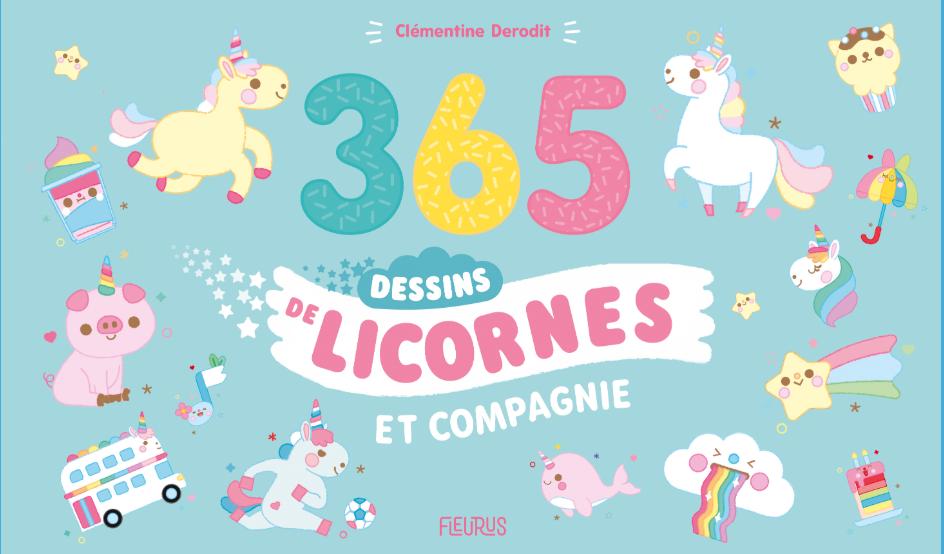 Couverture 365 licornes