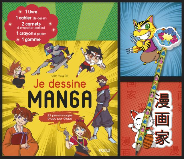 Couverture Je dessine Manga