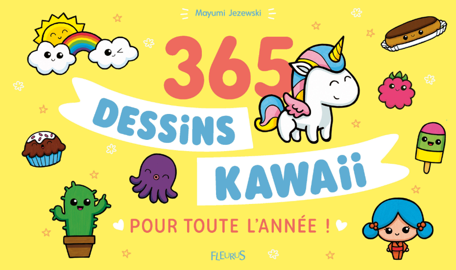 Couverture 365 kawaii